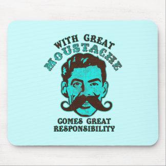 Great Moustache Mousepad