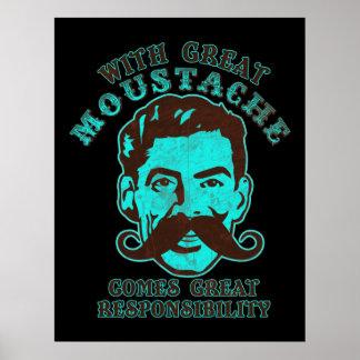Great Moustache Print