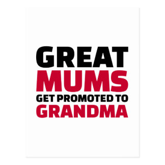 Great mums get promoted to Grandma Postcard