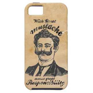 Great mustache tough iPhone 5 case