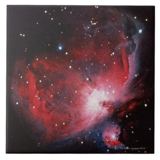 Great Nebula in Orion Large Square Tile