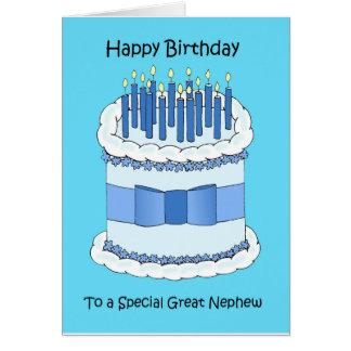 Great Nephew Happy Birthday Card