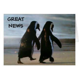 GREAT NEWS=ADOPTION CARD