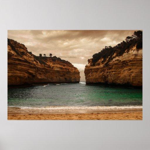 Great Ocean Gorge Print