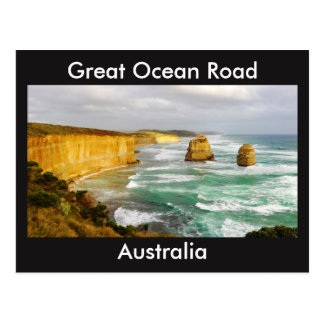 Great Ocean Road Australia Postcard