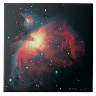 Great Orion Nebula Large Square Tile