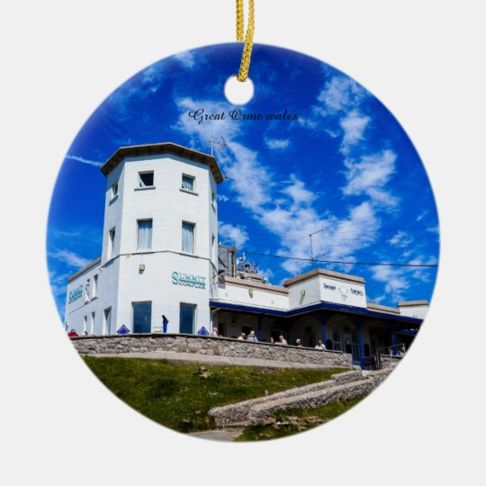 Great Orme wales. Christmas Ornament