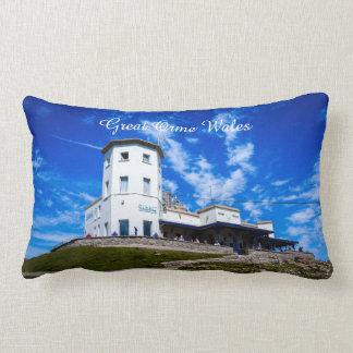 Great Orme Wales. Lumbar Pillow