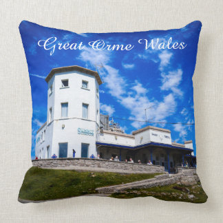 Great Orme Wales. Throw Pillow