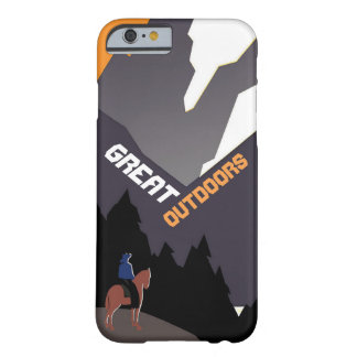 Great Outdoors Montana Barely There iPhone 6 Case