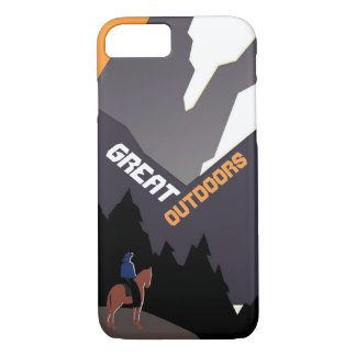 Great Outdoors Montana iPhone 8/7 Case