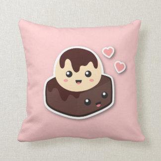 Great pair of Vanilla Ice Cream and Brownie Cushion