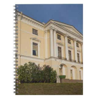 Great Palace of Czar Paul I, exterior 2 Notebook