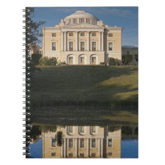 Great Palace of Czar Paul I, exterior Spiral Notebook