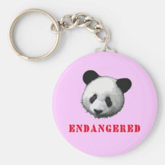 Great Panda Endangered Bear Key Chain