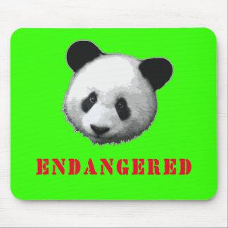 Great Panda Endangered Bear Mouse Pads