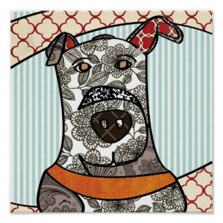 Great Pattern Dane Poster