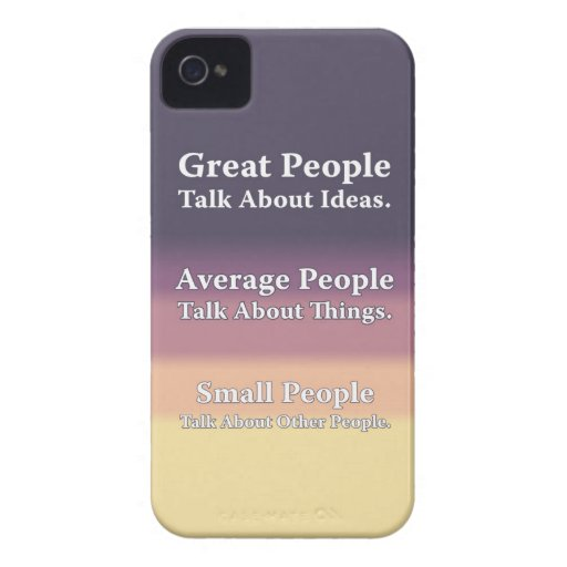 Great People Talk About Ideas. Blackberry Cases