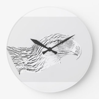 Great Philippine Eagle Large Clock
