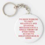 great phisics joke key chain