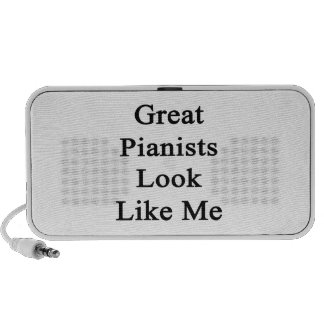 Great Pianists Look Like Me iPod Speakers