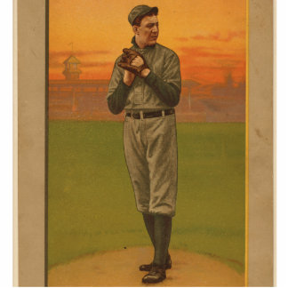 Great Pitchers Series - Joss Standing Photo Sculpture