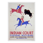 Great Plains Indian 1939 WPA Posters