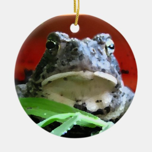 Great Plains Toad Christmas Ornaments