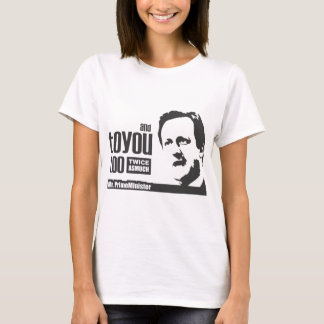Great PM Cameron Tshirt