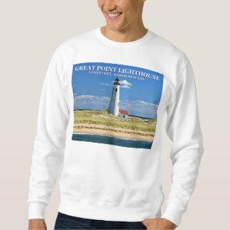 Great Point Lighthouse, Nantucket MA Sweatshirt