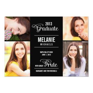 Great Pride Graduation Invitation /Announcement Custom Invite