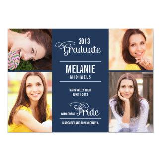 Great Pride Graduation Invitation /Announcement Personalized Announcement