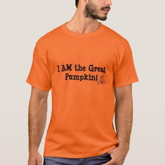 Great Pumpkin Halloween T-shirt