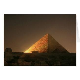 Great Pyramid Greeting Card