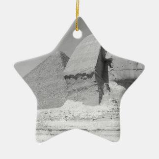 Great Pyramid of Giza Ceramic Star Decoration