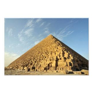 Great Pyramid of Khufu Cheops Giza Egypt Photo Print