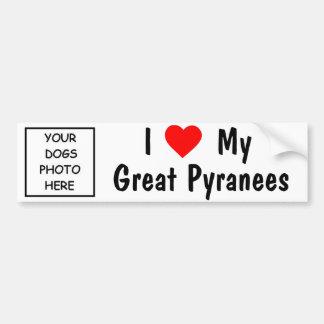 Great Pyranees Bumper Sticker