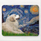 Great Pyrenees 2 - Starry Night Mouse Mat