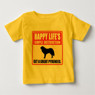 Great Pyrenees Baby T-Shirt