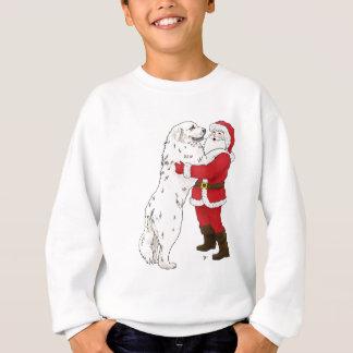 Great Pyrenees Christmas Greeting Sweatshirt