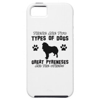 Great Pyrenees dog breed designs iPhone 5/5S Cases