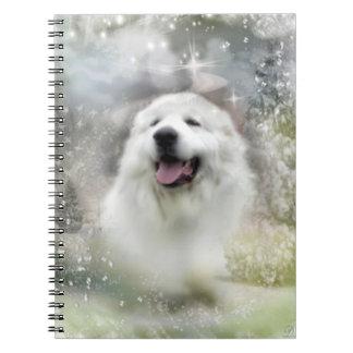 Great Pyrenees Notebook - Winter Season Design