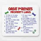 GREAT PYRENEES Property Laws 2 Mouse Mat