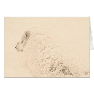 Great Pyrenees, Snow Dog series #1 Card