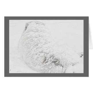 Great Pyrenees, Snow Dog Series#3 Card