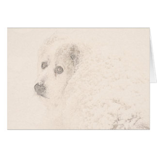 Great Pyrenees, Snow Dog Series #4 Card