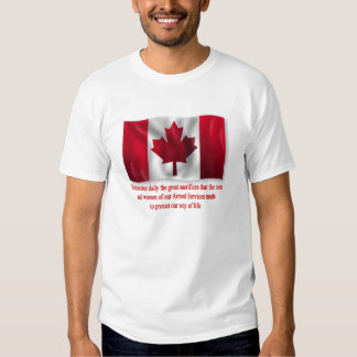 Great Sacrifices Remembrance Day T-Shirts