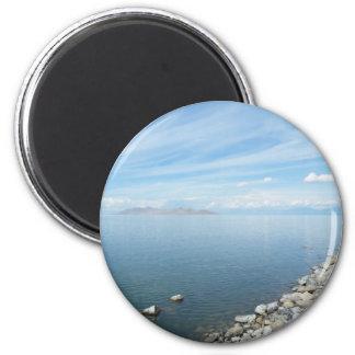 Great Salt Lake 6 Cm Round Magnet