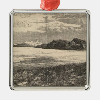 Great Salt Lake Desert Christmas Ornament