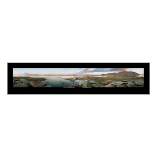 Great Salt Lake Panorama Poster